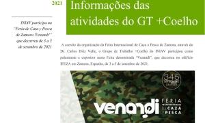 "INIAV participa na ""Feria de Caza y Pesca de Zamora 'Venandi'"""